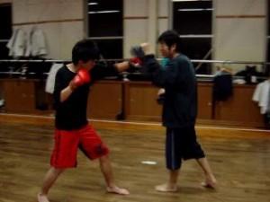 奈良 橿原 総合格闘技練習